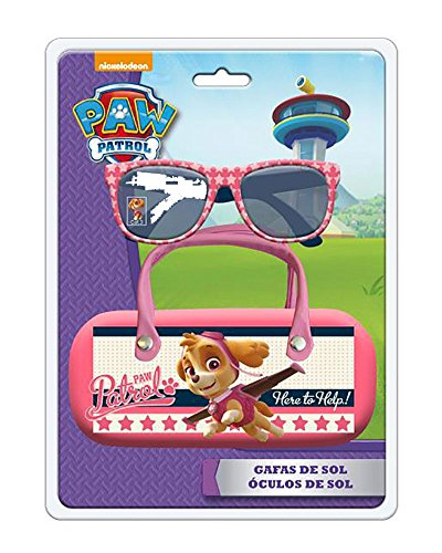 Disney- Gafas de Sol+Funda con asa Blister 260x190mm Paw G, Color Rose (Astro AST3793)
