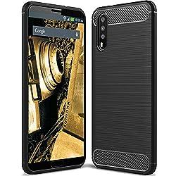 Tomaxx Huawei P20 Pro Hülle Schutzhülle Tasche Carbon - Schwarz