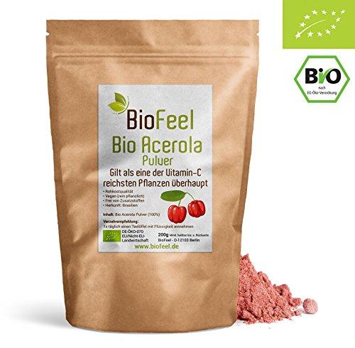 Bio Acerola Pulver, 200g