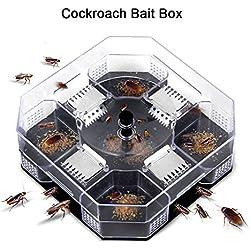 Trampa de Cucaracha Reutilizable Control de Insectos para Cocina Restaurante