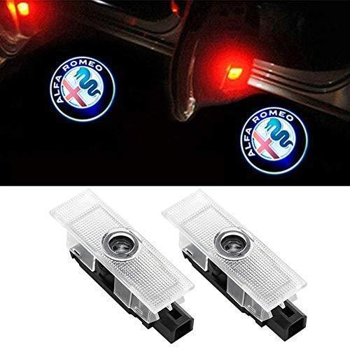 Cool Design - Illuminazione per portiera dell'auto, con logo, luce di benvenuto