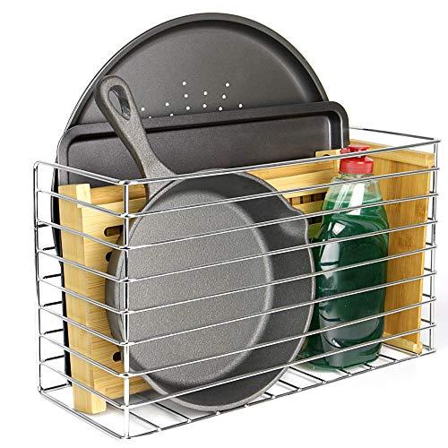 Maison & White Cesta de almacenamiento de cocina | Sobre gabinete y...