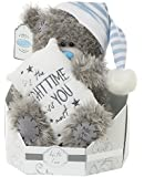 """Me to You SG01W4109 9-Inch Tall """"Tatty Teddy Signature Collection It's The Night time I Miss You Most Bear Sits"""" Plush Toy"""
