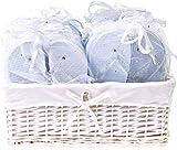 Zohula Weiß Hochzeit Flip Flops Zehentrenner Premium-Partypaket - 20 Paare
