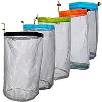 LetCart Bolsa de Malla con cordón, Bolsa de Malla Ultraligera Bolsa de Almacenamiento de Material para Acampar al Aire Libre Senderismo Senderismo(M Naranja)