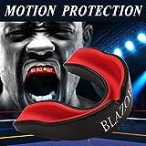 BLAZOR Tous Les Sports Protège-Dents Mouthguard Unisex pour Jeunes/Adultes idéal pour Les Sports de Contact, Les Arts Martiaux, Le karaté, Le Rugby, la Boxe, Le Hockey ou Le Football