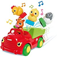 Toomies Sort & Pop Farmyard Friends Preschool Toy