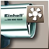 Einhell Heißluftgenerator HGG 200 Niro Vario (Nennwärmeleistung 20 kW, Heizmantel aus verzinketem Stahlblech, Piezozündung, Druckregler, Tragegriff) - 2