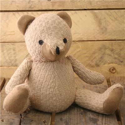 Türstopper Teddybär In Beige Seil Schnur ~ Tuerstopper Dekorativ -