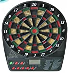 #2: Krauss Electronic Dartboard with LCD display ; 18 Games (can accommodate upto 8 players)