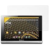 atFolix Schutzfolie für Lenovo Yoga Tablet 10 HD+ Displayschutzfolie - 2 x FX-Antireflex blendfreie Folie