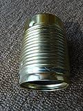 Metall-Fassung E27 vermessingt mit Außengewinde, Sockelgewinde Metall M10 mit Feststellschraube