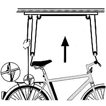 Atlantic - Elevador de bicicletas - para montaje en techo 2017 Soporte pared/techo