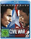 The First Avenger: Civil War [Blu-ray] - Mit Chris Evans, Robert Jr. Downey, Chadwick Boseman, Scarlett Johansson, Daniel Brühl