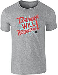 Pop Threads Danger Will Robinson! Lost in Space Short Sleeve T-Shirt by