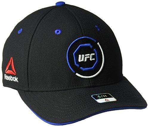Reebok gebogen Visier Flex Hat, unisex, Curved Visor Flex Hat, schwarz / blau