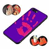 Magico Calore sensibile iPhone caso, Aliyao Sensore termico Morbido Sottile Pu Copertura Il colore cambierà con la temperatura Moda Mobile Accessori (iPhone 7, Viola)