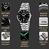 CIVO-Mens-Luxury-Stainless-Steel-Band-Business-Casual-Wrist-Watch-Mens-Luminous-Analogue-Quartz-Dress-Watches-Simple-Classic-Roman-Numeral-Design-Date-Calendar-Wristwatch-with-Link-Remover-Bonus