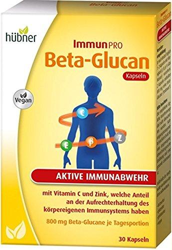 hübner ImmunPRO Beta-Glucan Kapseln zur aktiven Immunabwehr 30 Stück -