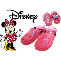 Sandalias de goma infantiles con efecto de luz motivo MINNIE de DISNEY - Rosa, 22