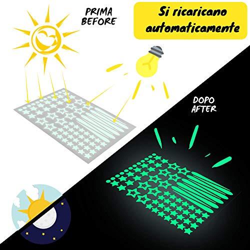 Zoom IMG-3 stelle adesive fluorescenti 328 pezzi