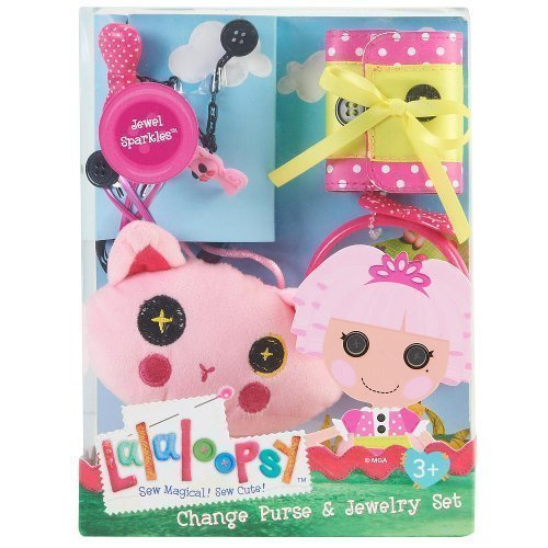 Lalaloopsy Change Purse and Jewelry Set Jewel Sparkles (Jewel Sparkles Baby)