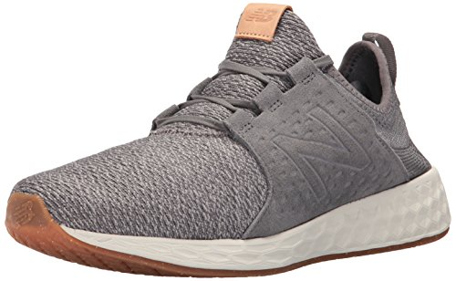 18. new balance Men's Cruz Grey White Running Shoes