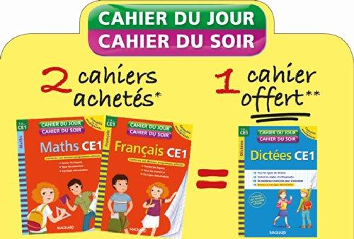 Pack Cahier du Jour/Soir 3ex CE1