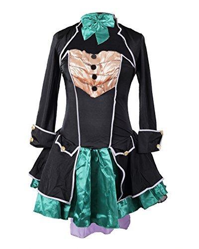 Party Tee Kostüm Prinzessin Kind - Schickes Hutmacher Kostüm von Emma's Wardrobe - Enthält trägerloses Kleid, Jackett, Hut und Fliege - Schönes Alice im Wunderland Kostüm für Halloween und Teepartys - Erhältlich in den Größen 36-46