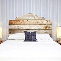 Fesselnd LNPP 3D DIY Wandaufkleber F¨¹r Schlafzimmer Imitation Bett Kopfteil Holz  Textur Wand Dekor ,