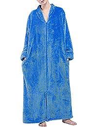 Pronghorn Vestido de Franela de Invierno para Mujer Bata de Lana Albornoz, Ropa de Cama