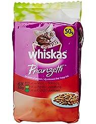 Whiskas Pranzetti Carni Miste - Confezione da 6 x 50 g