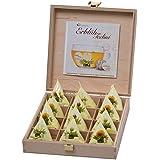 "Creano ErblühTeelini 12er Präsentbox ""Weißer Tee - aromatisiert"", 1er Pack (1 x 60 g)"