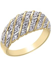 Vivre Gold Plated Wedding Ring Band For Women - 16