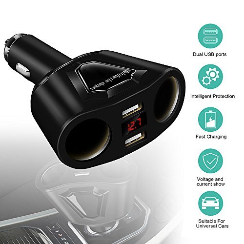 LIGHTUPRO Car Charger Adapter