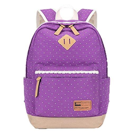 OPSUN , Damen Rucksackhandtasche Taille Unique Violett