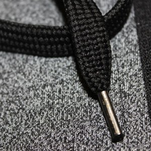 AWG-Mens-Black-Melange-Grindle-Hoodie-Sweatshirt-with-Zip