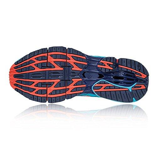 new concept 3ff68 4c6c4 ... purchase mizuno wave prophecy 7 wos scarpe da running donna turchese  aquarius hotcoral c6f6f 24248