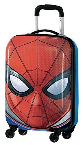 Spiderman M97703 Valigia Per Bambini, Trolley Da Cabina, 55 Centimetri, 33 Litri, Multicolore
