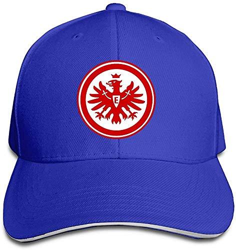 CehTureal MSKOOK Eintracht Frankfurt Outdoor Sandwich Peaked Cap&Hat for Unisex
