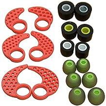 lovinstar 9pares de recambio para auriculares in-ear auriculares in-ear aletas de espuma para Jaybird Bluebuds X X2Bluetooth deporte