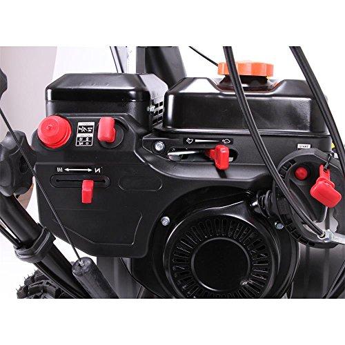 FUXTEC Benzin Schneefräse SF210 7,5 PS 230 Volt E-Starter Schneeräumgeräte - 5