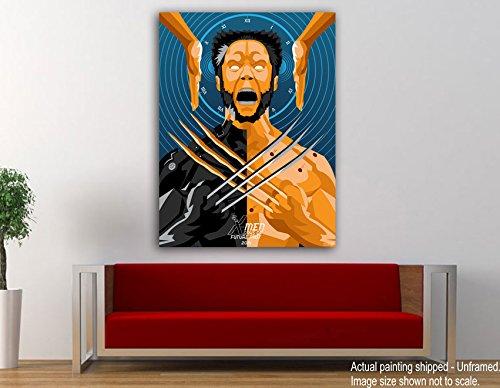 ting - Wolverine - X Men - Superheroes - Movie Canvas Art (Xmen Superheroes)