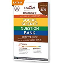 Educart CBSE Social Science Class 10 Question Bank (Reduced Syllabus) for 2021