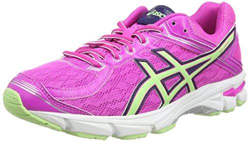 ASICS Gt-1000 4 Gs -  Scarpe da corsa, unisex per adulto, colore rosa (pink glow/pistachio/indigo blu 3587), taglia 38 EU (4.5 UK)
