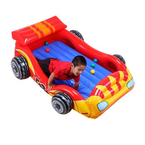 Color Baby - Piscina de bolas forma coche, 183 x 130 x 56 cm (48665)