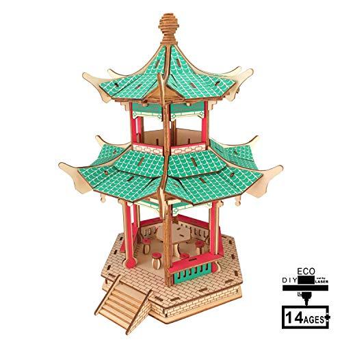 Holzbausatz 3D-Holzbausatz ohne