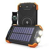 Wireless Power Bank Solar Ladegerät
