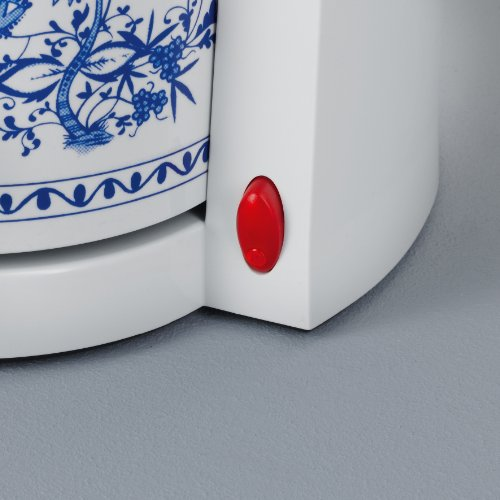 Severin KA 9203 Macchina per il Caffè Americano con Due Caraffe Termiche, 800 W, Bianco/Blu