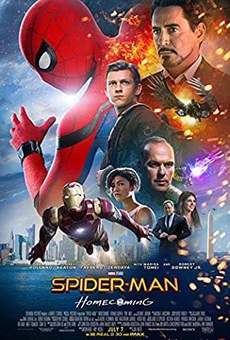 SPIDERMAN : HOMECOMING - US Movie Wall Poster Print - 30CM X 43CM Brand New Spider Man